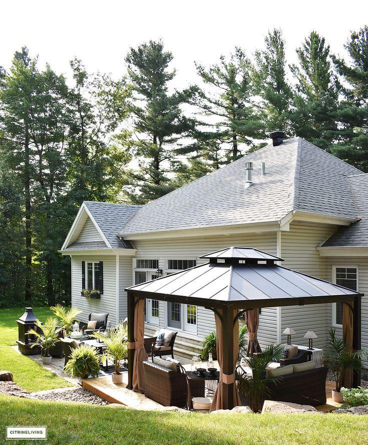 Our Backyard Makeover Reveal Part 2 Patio Design Backyard