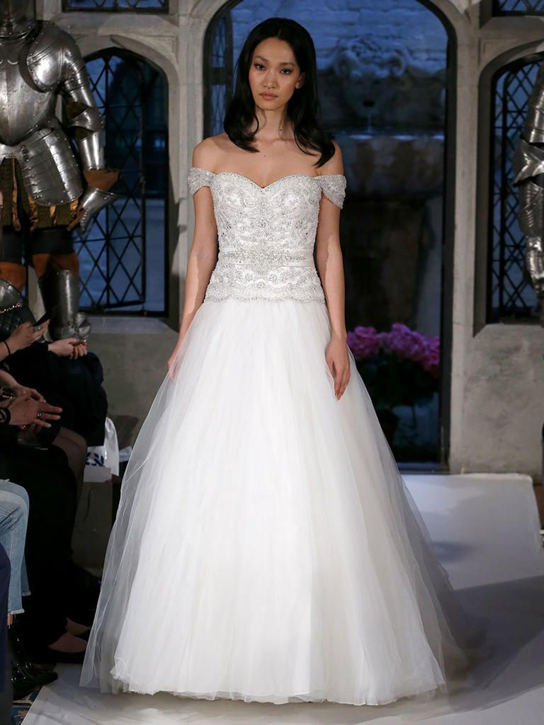 Oleg cassini spring a twist on tradition wedding dress and