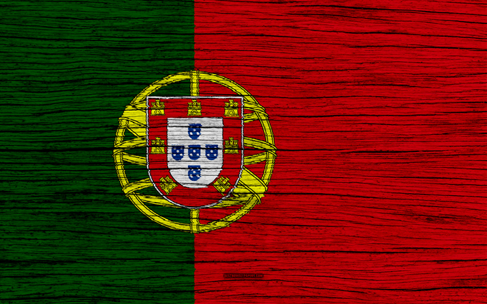 Download Wallpapers Flag Of Portugal 4k Europe Wooden Texture Portuguese Flag National Symbols Portugal Flag Art Portugal Besthqwallpapers Com Portugal Flag Portuguese Flag National Symbols