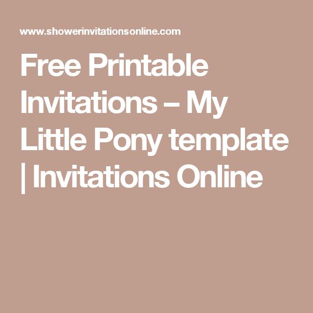 free printable invites online