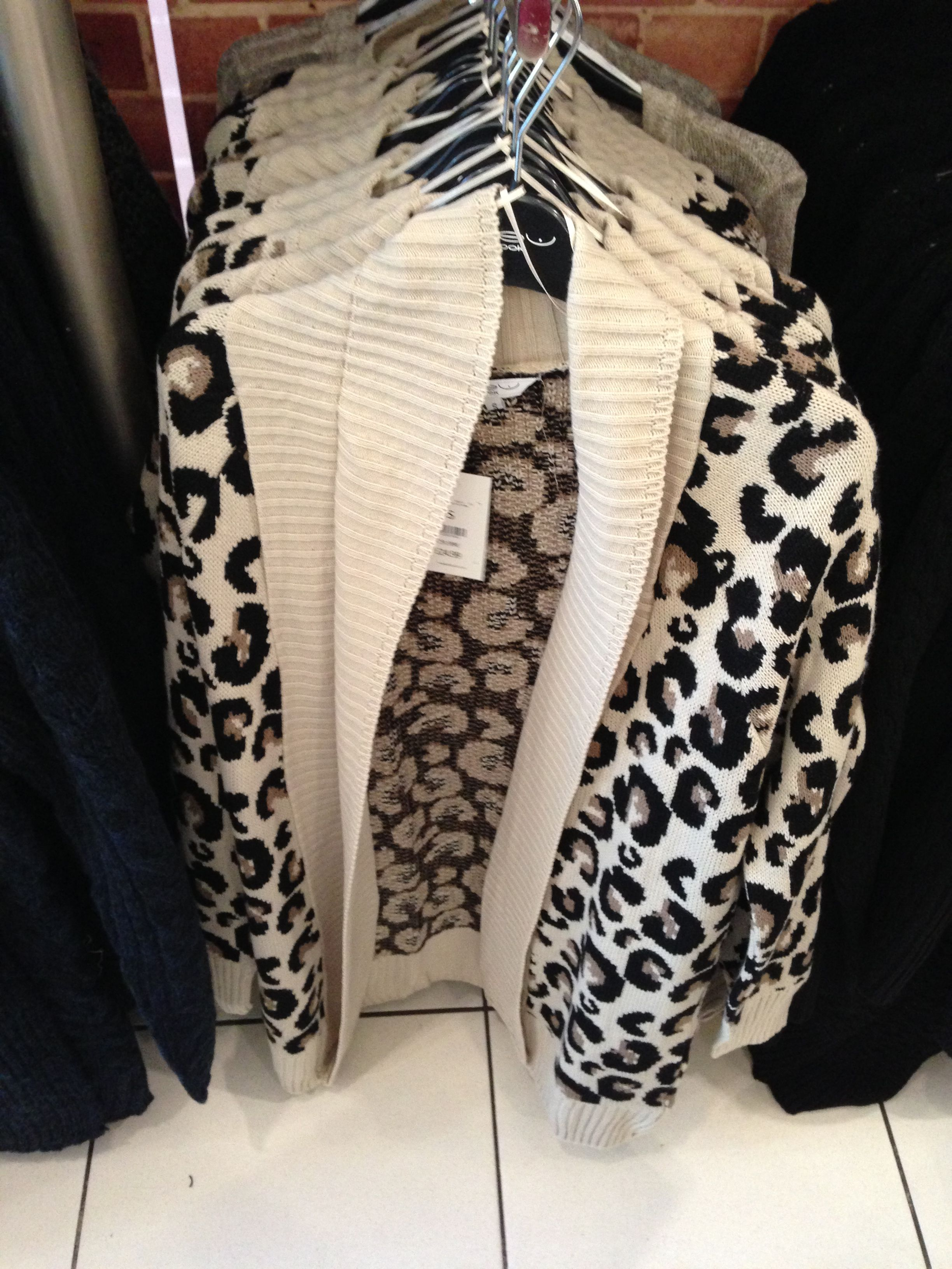 New Look cardigan animal print love it £24.99 Cardigan