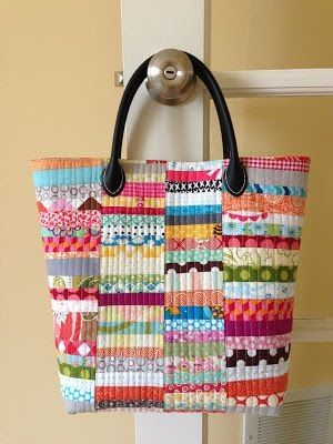 quilted bag - crazy mom quilts by KERENODELLE
