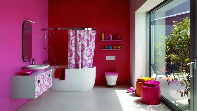 Salle de bain feminine La R HOME * Déco inspiration * Pinterest