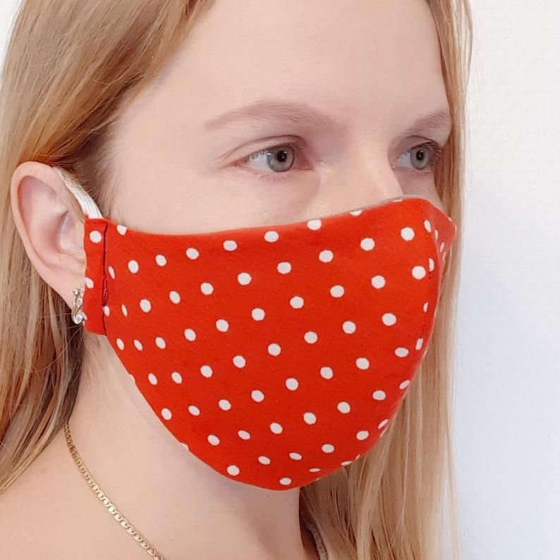Face Mask Pattern Sewing Washable Reusable Cotton Mask Sewing
