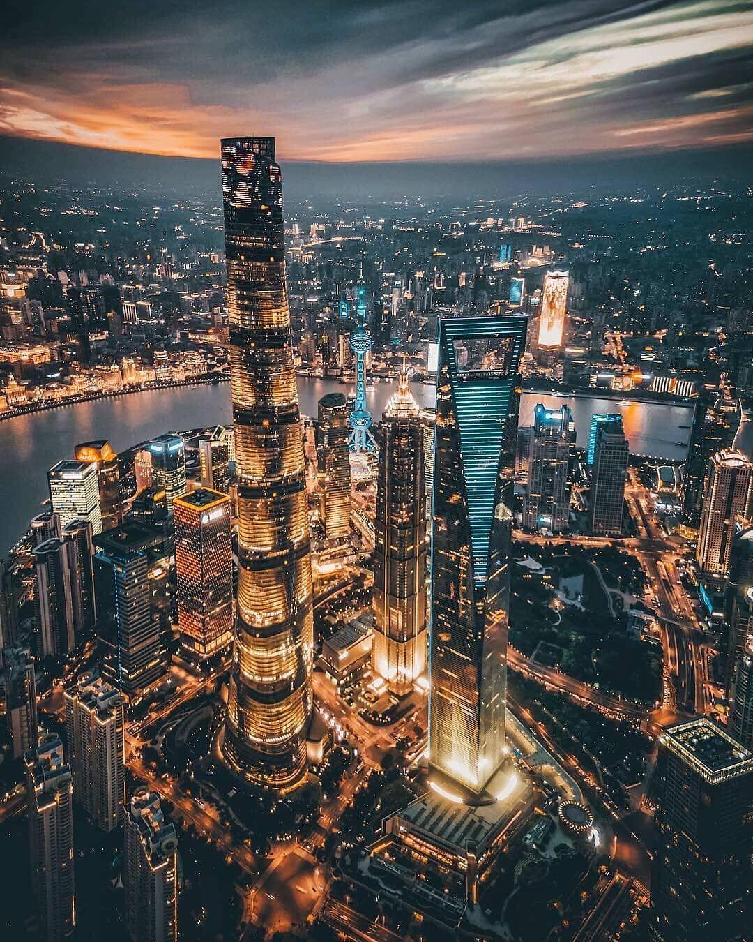 Shanghai China Photo By Youknowcyc Shanghai Night China City Shanghai City