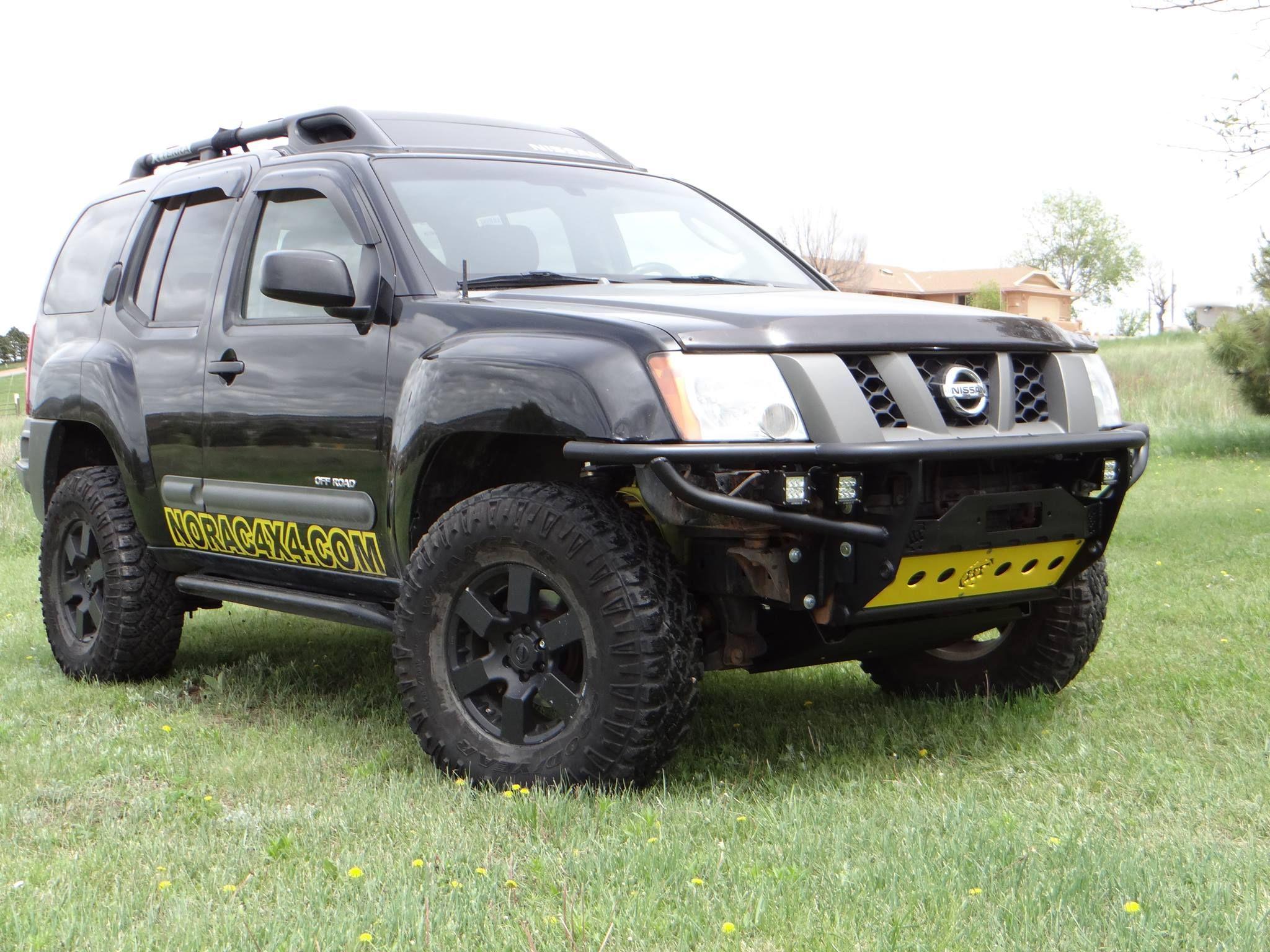 2001 xterra bumper