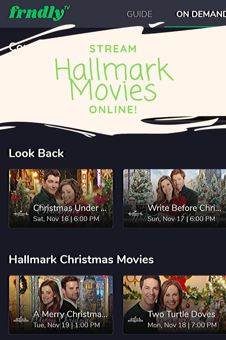 You Can Finally Stream Hallmark Channel with FrndlyTV