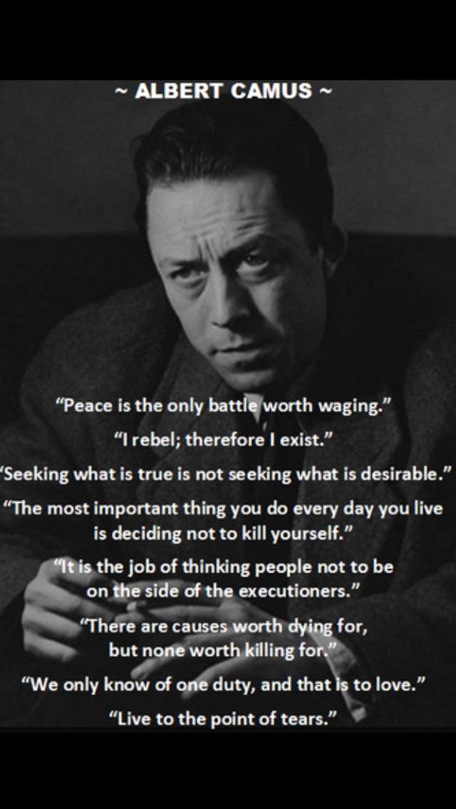 Albert Camus Quotes Best Pinclaudia Gibson On Albert Camus Quotes  Pinterest  Albert
