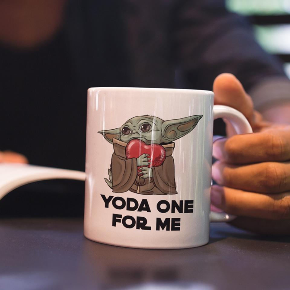 Yoda One For Me Mug Star Wars Jokes Mugs Star Wars Merchandise