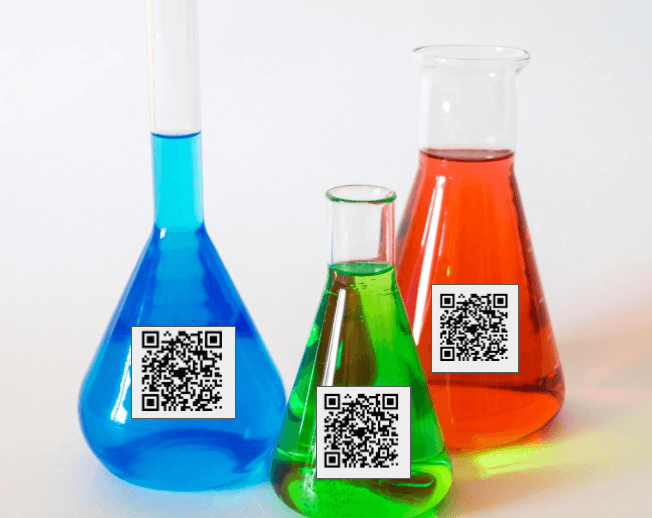 Qr Codes In Chemical Industry Diverse Use Case Ideas Chemical Industry Coding Qr Code