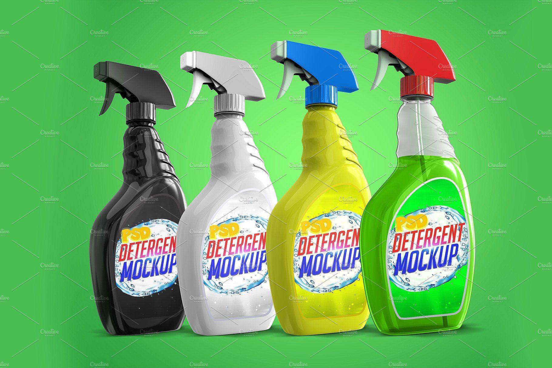 Laundry Detergent Bottle Psd Mockups Laundry Detergent Bottles Detergent Product Detergent Bottles