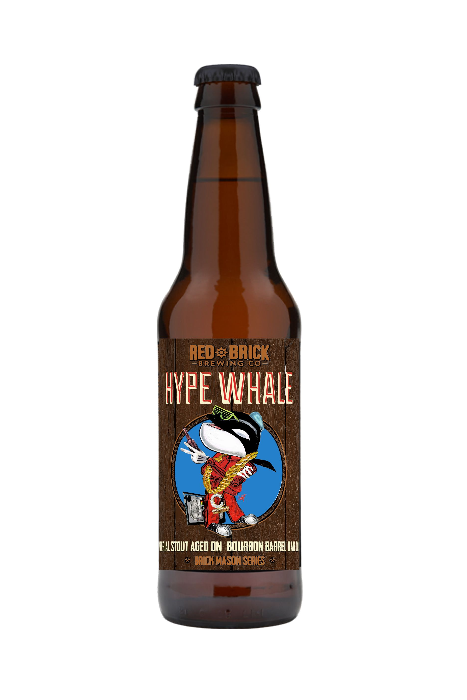 Red Brick Hype Whale - Limited Release