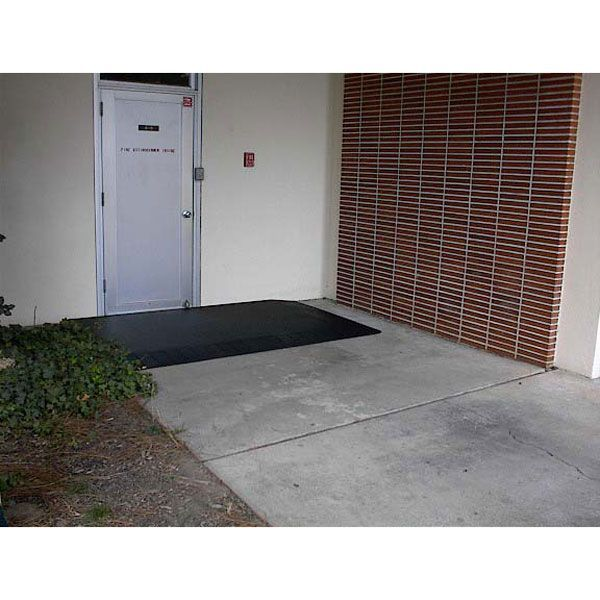 Entrylevel Landings Assure Ada Compliance At Most Door Entrances Entrylevel Landing Ramps Are Made From 100 Re Entrance Doors Building Code Wheelchair Ramp