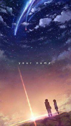 Kimi No Na Wa Your Name Phone Wallpaper Lock Screen