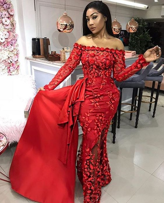 Most Beautiful Dinner Gown Styles Of 2018 #nigeriandressstyles