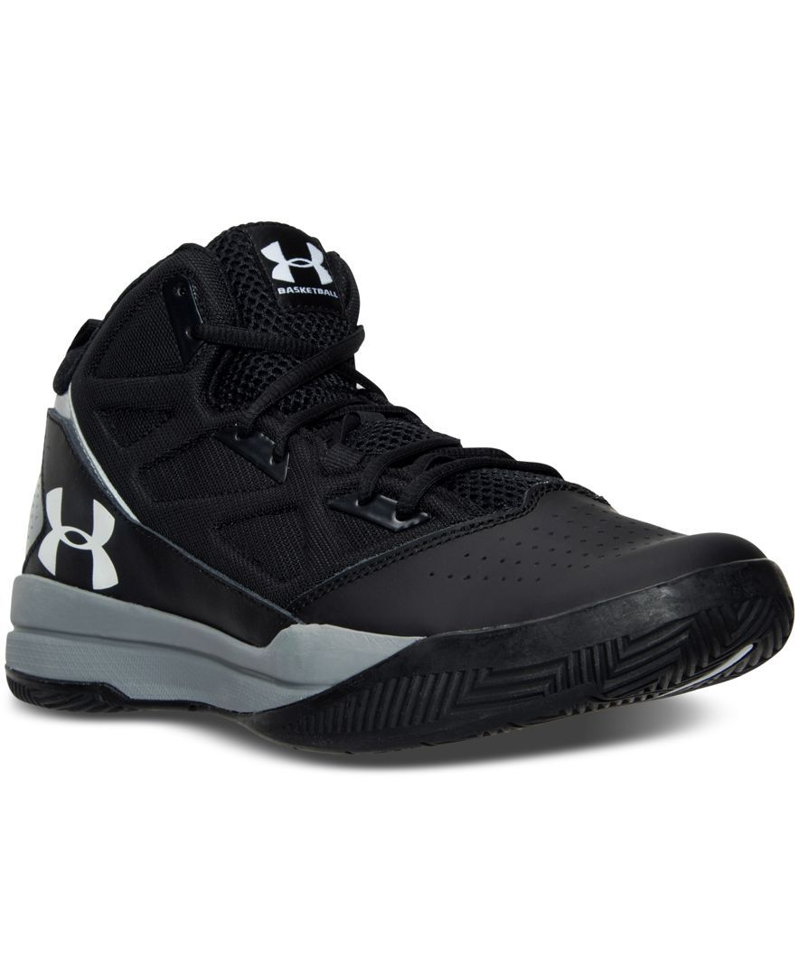 159fc5448c8d Under Armour Men s Jet Mid Basketball Sneakers from Finish Line ...