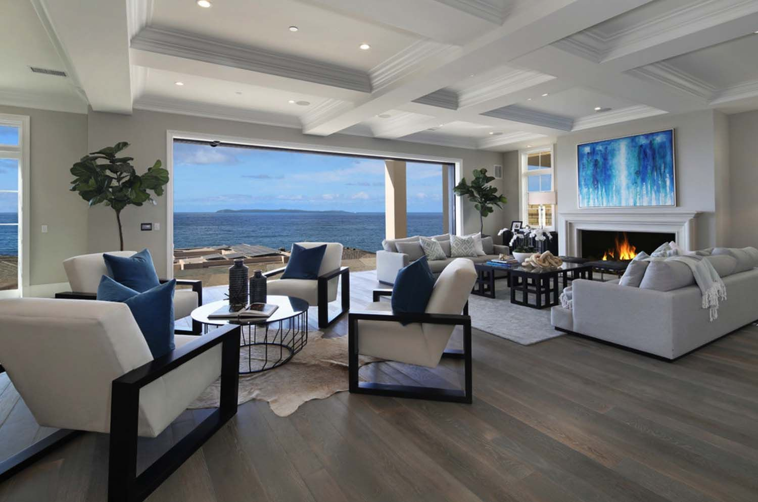 southern california beach house with a fresh take on casual decor