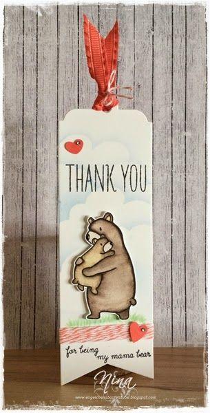 Mama Elephant - Bear Hugs, Stampin up!