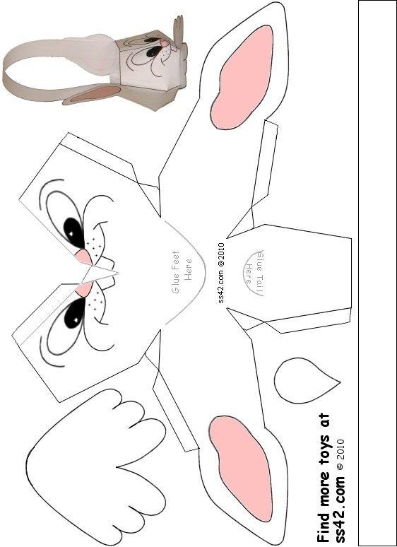 Photo of Free Printable Bunny Easter Basket
