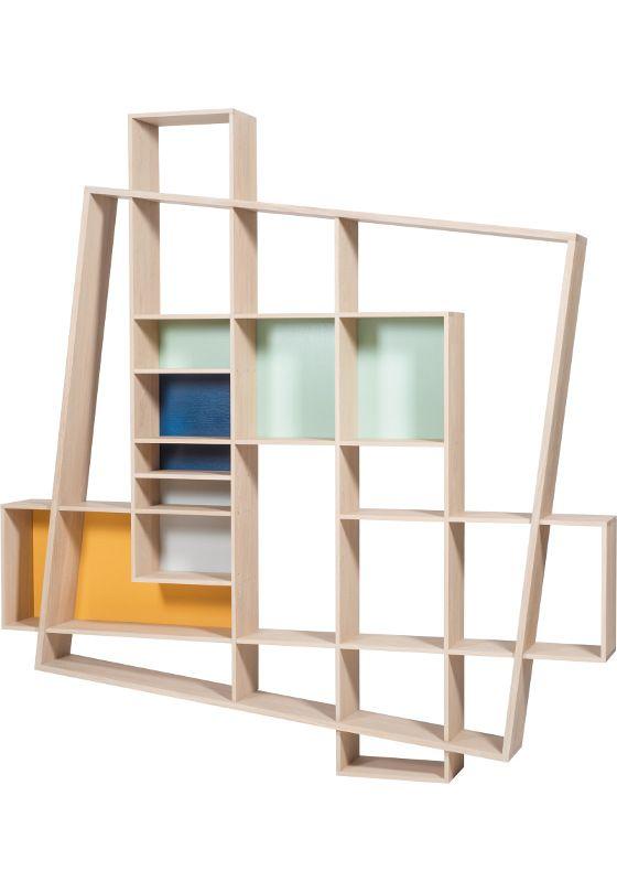 Boekenkasten : Design boekenkast Frisco | Kasten | Pinterest