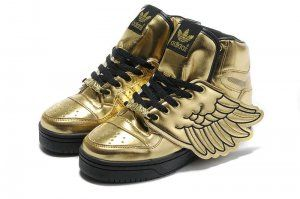 Discount Adidas Hot Jeremy Scott Wings Oro Negro Hot Adidas outlet Barato sale 11896f