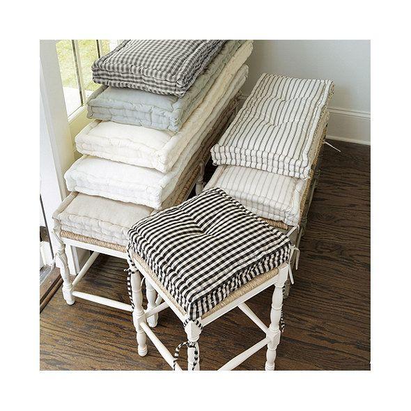 Farmhouse Stool Cushions Ballard Designs French Mattress Cushion French Mattress Mattress Cushion