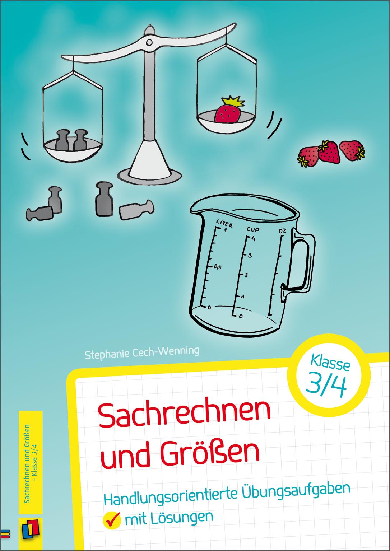 Sachrechnen und Größen – Klasse 3/4 ++ #Unterrichtsmaterial für ...