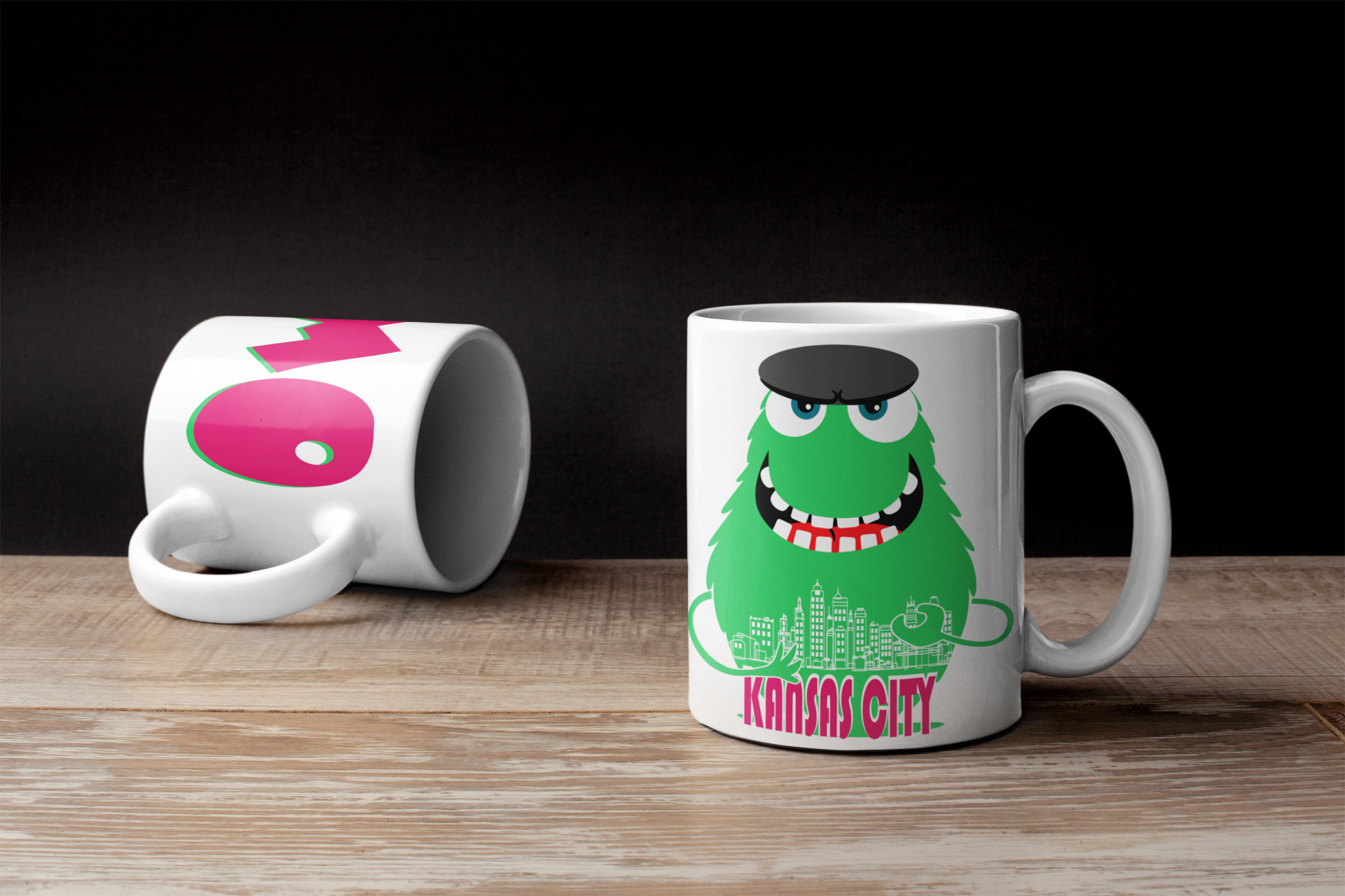 Custom Mug Design For Kansas City Mo Mugs Custom Mugs Mug Designs