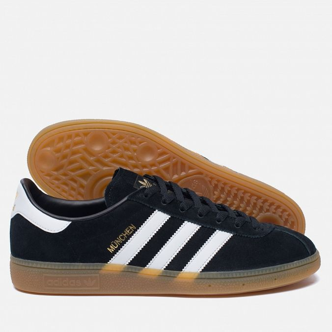 new product 47561 65cca adidas Originals Munchen Core Black White Gum. Article  BB5296. Year  2016.  Made in Vietnam.