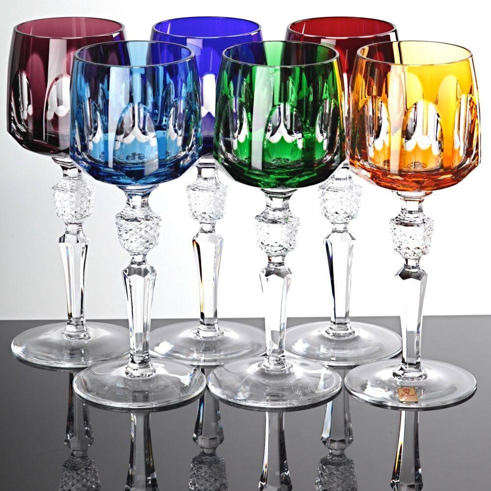 6 nachtmann antika weingl ser r mer bleikristall gl ser berfang 20 cm vintage glas glass. Black Bedroom Furniture Sets. Home Design Ideas