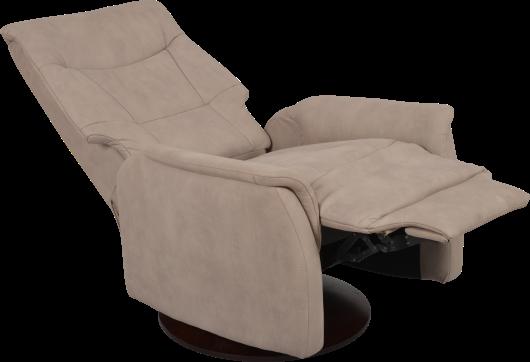 Ce fauteuil de relaxation jasmin est la fois design et pivotant il a une f - Chaise de relaxation ...
