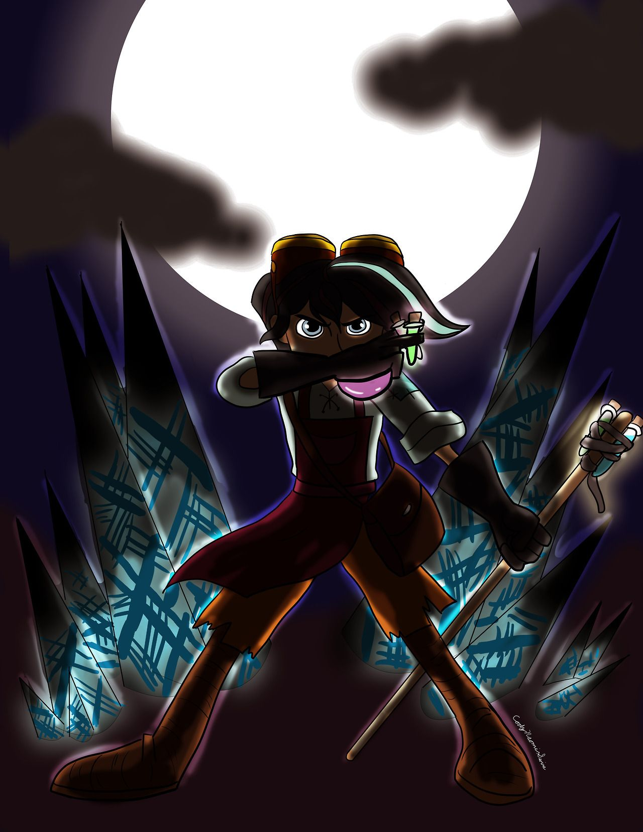 By The Light Of The Moon Got Inspired By Varian S Attempts At Combat In The Alchemist Returns And This Picture B Frozen And Tangled Favorite Character Fan Art