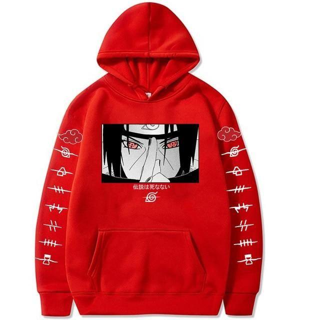 Photo of 2021 fashion naruto Hoodies Streetwear – red / XXXL