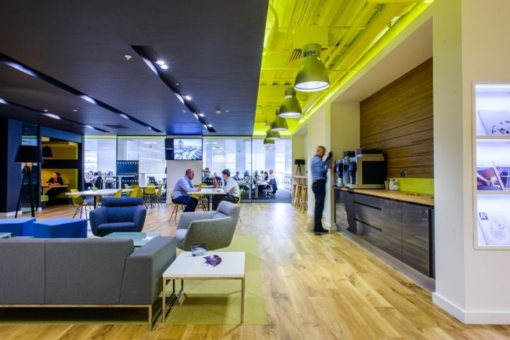 arup offices by tsk group manchester uk retail design