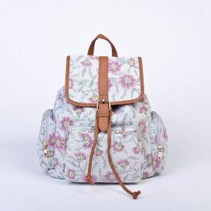 Mochilas con flores 3 (con imágenes) | Mochilas rosadas
