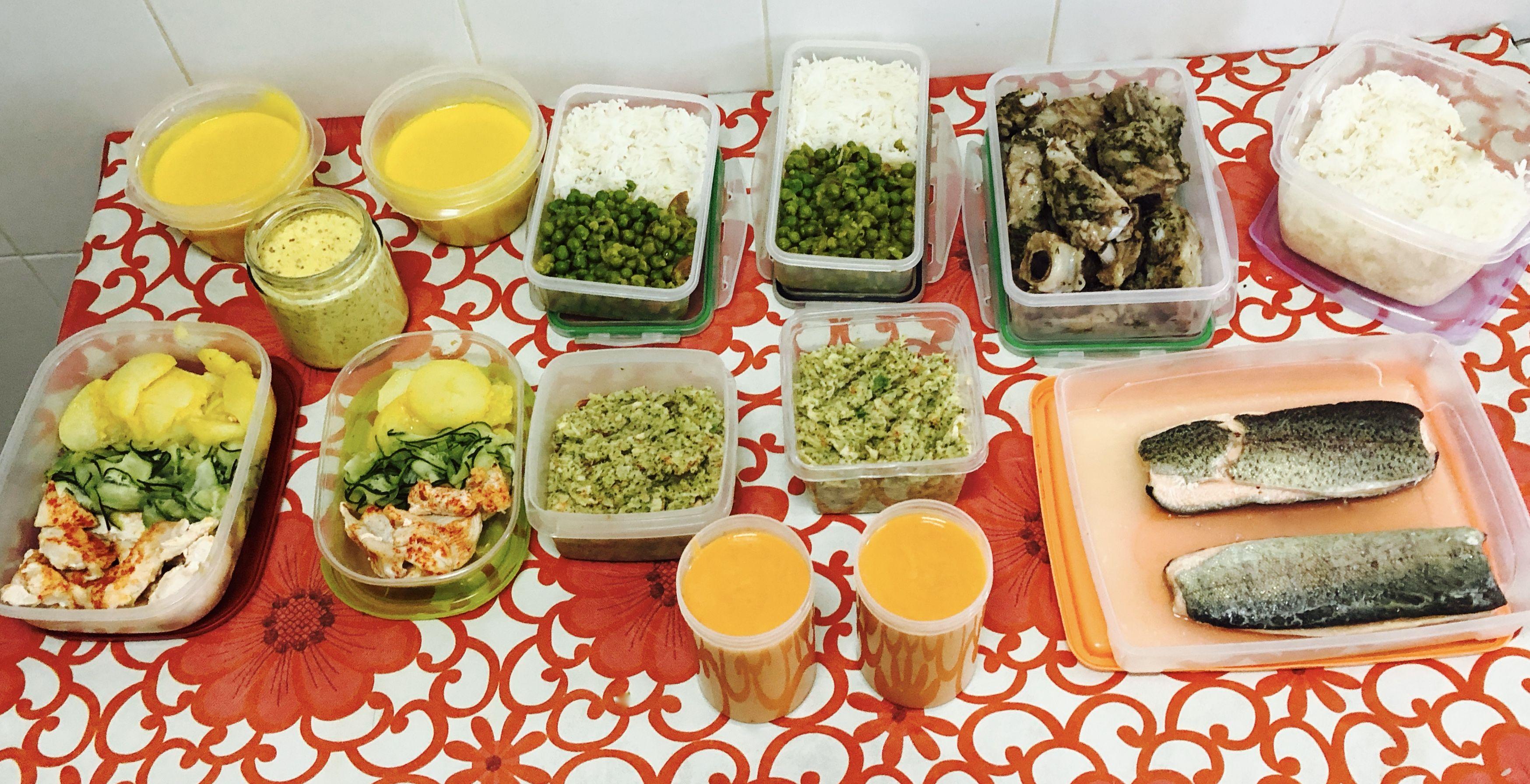 Como Realizar Un Meal Prep Con Thermomix Cocinar Para Varios Dias Coccion En Varoma Blog De Mª Pilar Sancho De Recetas Rapidas Comida Etnica Thermomix