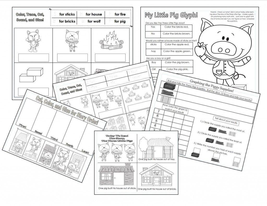 The Three Little Pigs Teaching Heart Blog Three Little Pigs Little Pigs Fairytale Lessons [ 791 x 1024 Pixel ]