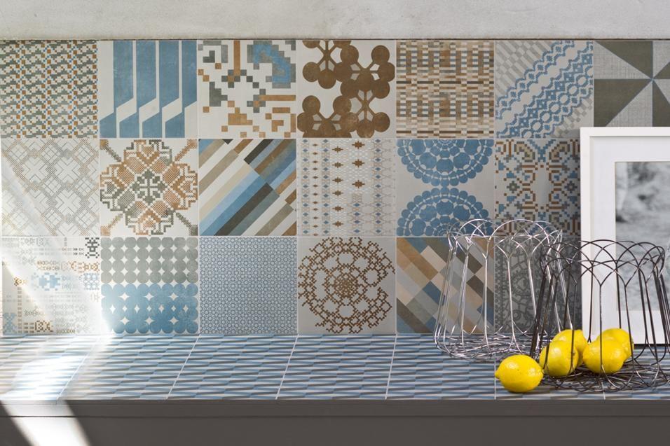 Piastrelle per decorare la cucina patricia urquiola - Decorare piastrelle ...