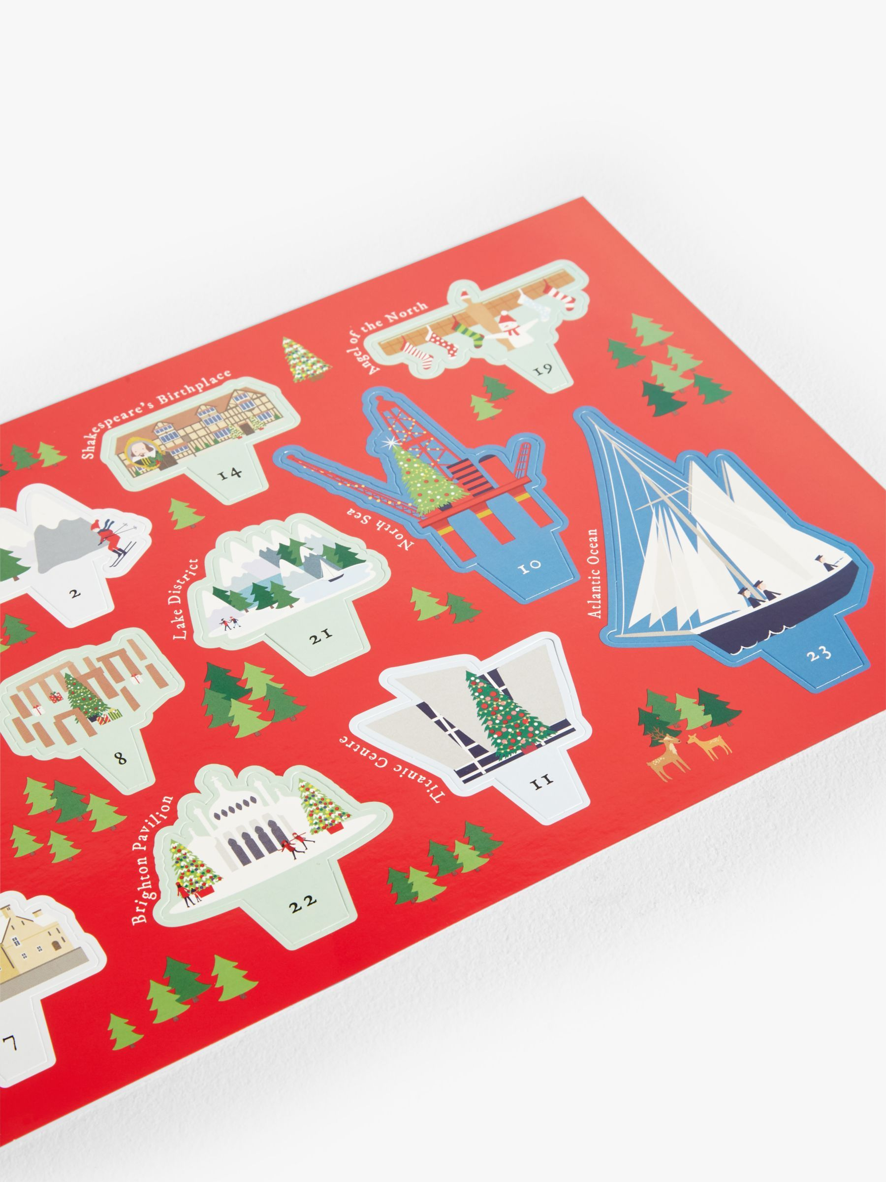 Woodmansterne The British Isles at Christmas Advent Calendar #britishisles