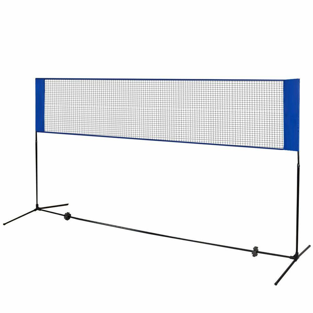 Advertisement Ebay Portable 10 X 5 Beach Badminton Training Net W Carrying Bag Badminton Volleyball Training Volleyball Nets
