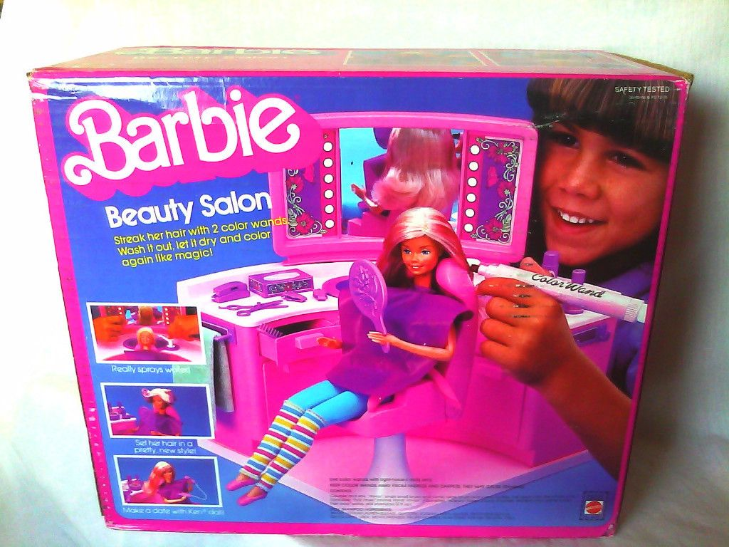 Barbie Beauty Salon Those Hair Pens Really Stank