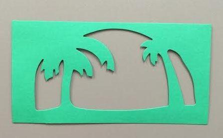 Diorama Palm Trees (border)