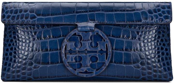 68047afd7bb Tory Burch MILLER EMBOSSED CLUTCH