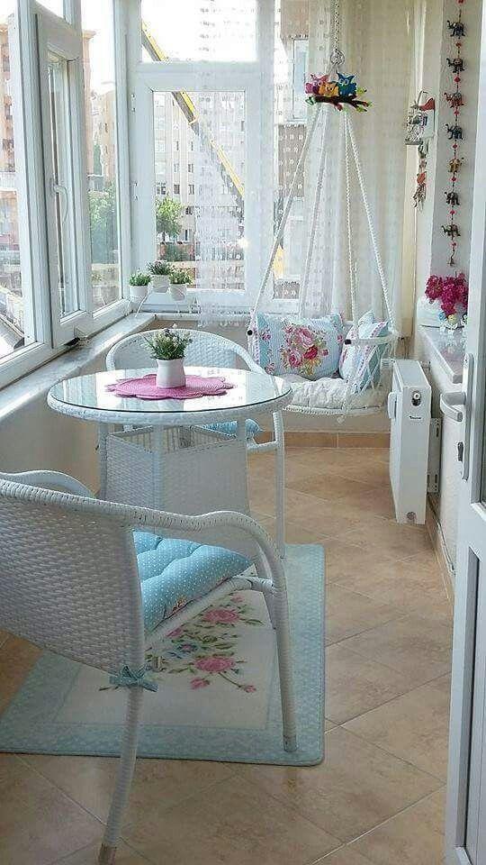Balkon Dekorasyon Fikirleri Balcony Porch Ve Apartment Balconies