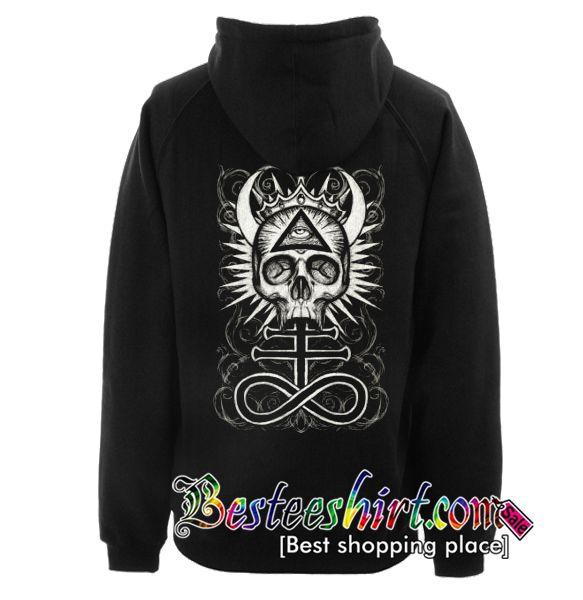 Illuminati Skull with Leviathan Cross varsity jacket 1uGy0vf8B