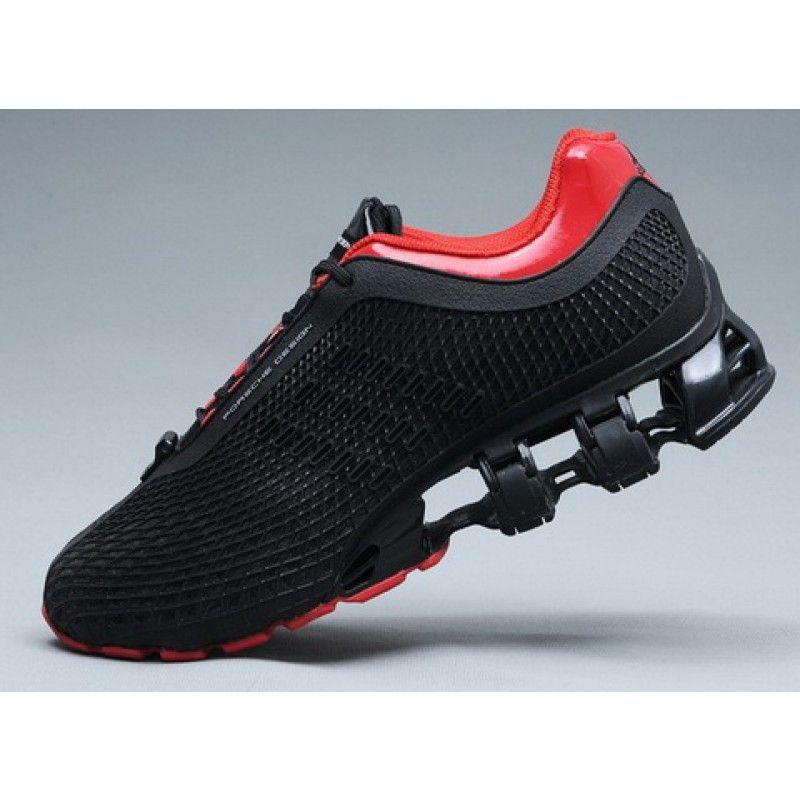 Adidas Porsche Design Adidas Bounce S2 P5000 P5510 Sport Running Black Red Titanium Red Sport Shoes Sport Shoes Design Running Sport Shoes