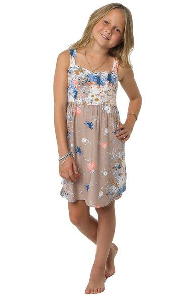 O'Neill 'Pollie' Floral Print Sundress (Little Girls & Big Girls) available at #Nordstrom