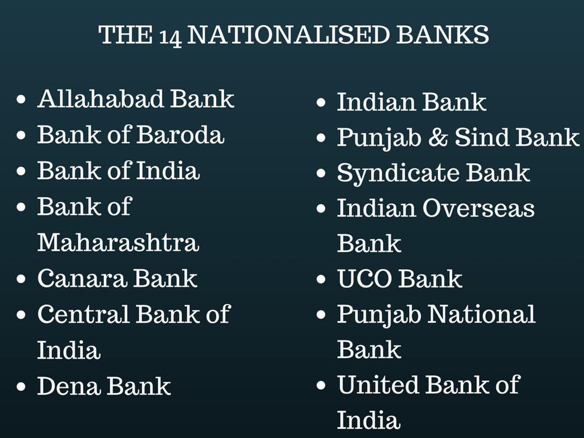 Decoding Indira Gandhi S Bank Nationalisation Of 1969 Indira Gandhi Gandhi Bank Of Baroda