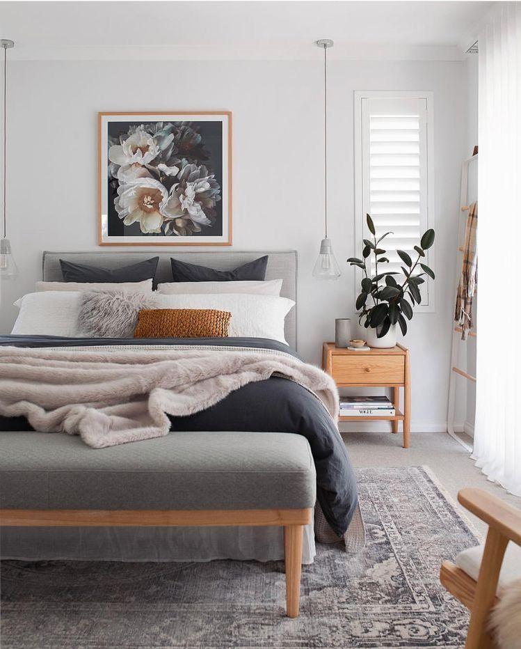 41 Elegant And Modern Master Bedroom Design Ideas 2018 Avec