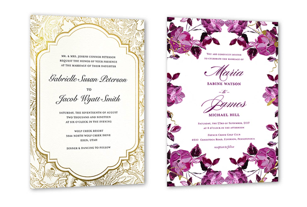 35 Wedding Invitation Wording Examples 2021 Shutterfly Wedding Invitations Examples Marriage Invitations Wedding Invitation Samples